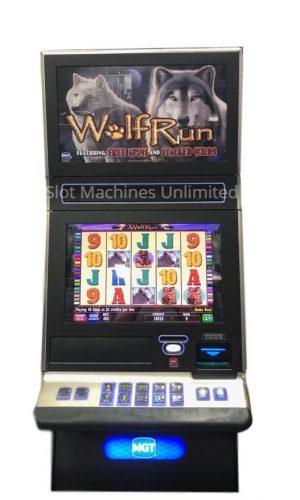 IGT G23 Wolf Run slot machine
