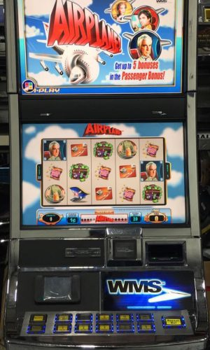 Airplane slot machine