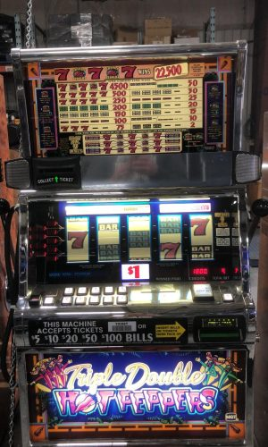 Triple Double Hot Peppers slot machine