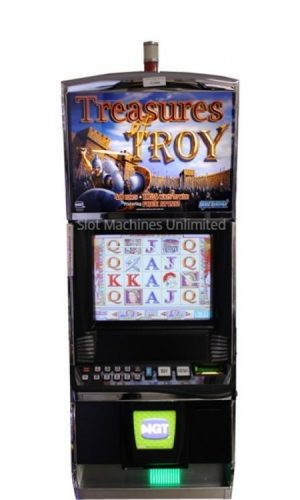 Treasures of Troy slot machine
