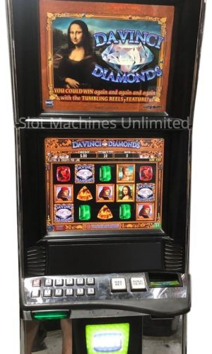 Davinci Diamonds slot machine