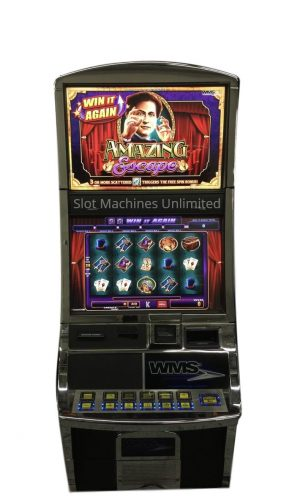 Amazing Escape slot machine