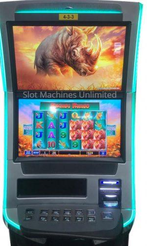Raging Rhino slot machine