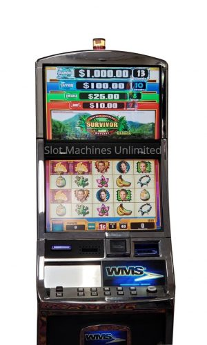 Survivor slot machine