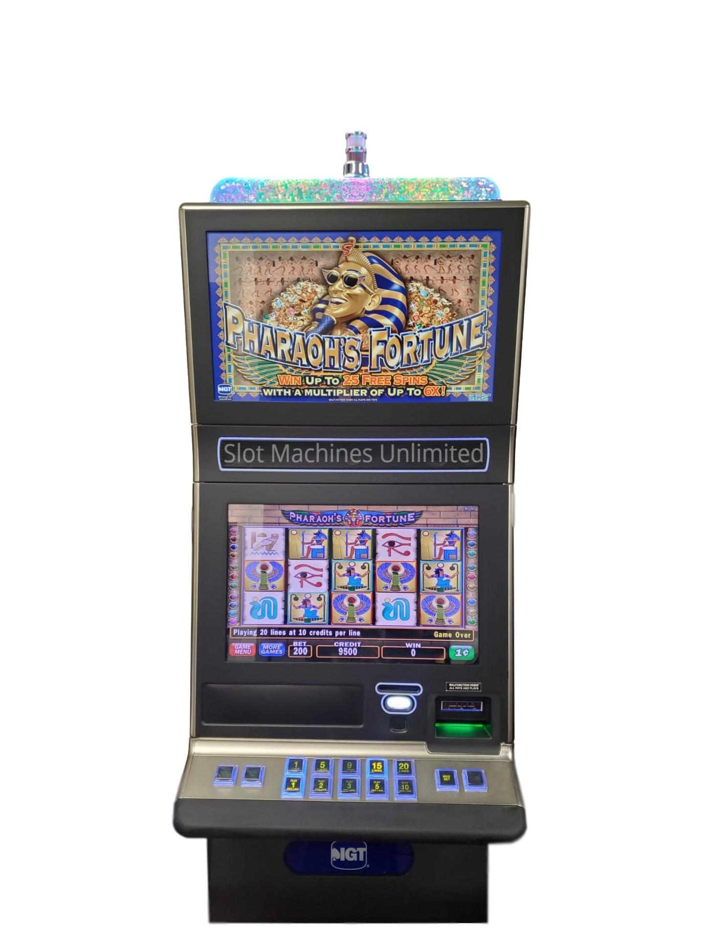 Pharaohs Fortune Slot Machine For Sale