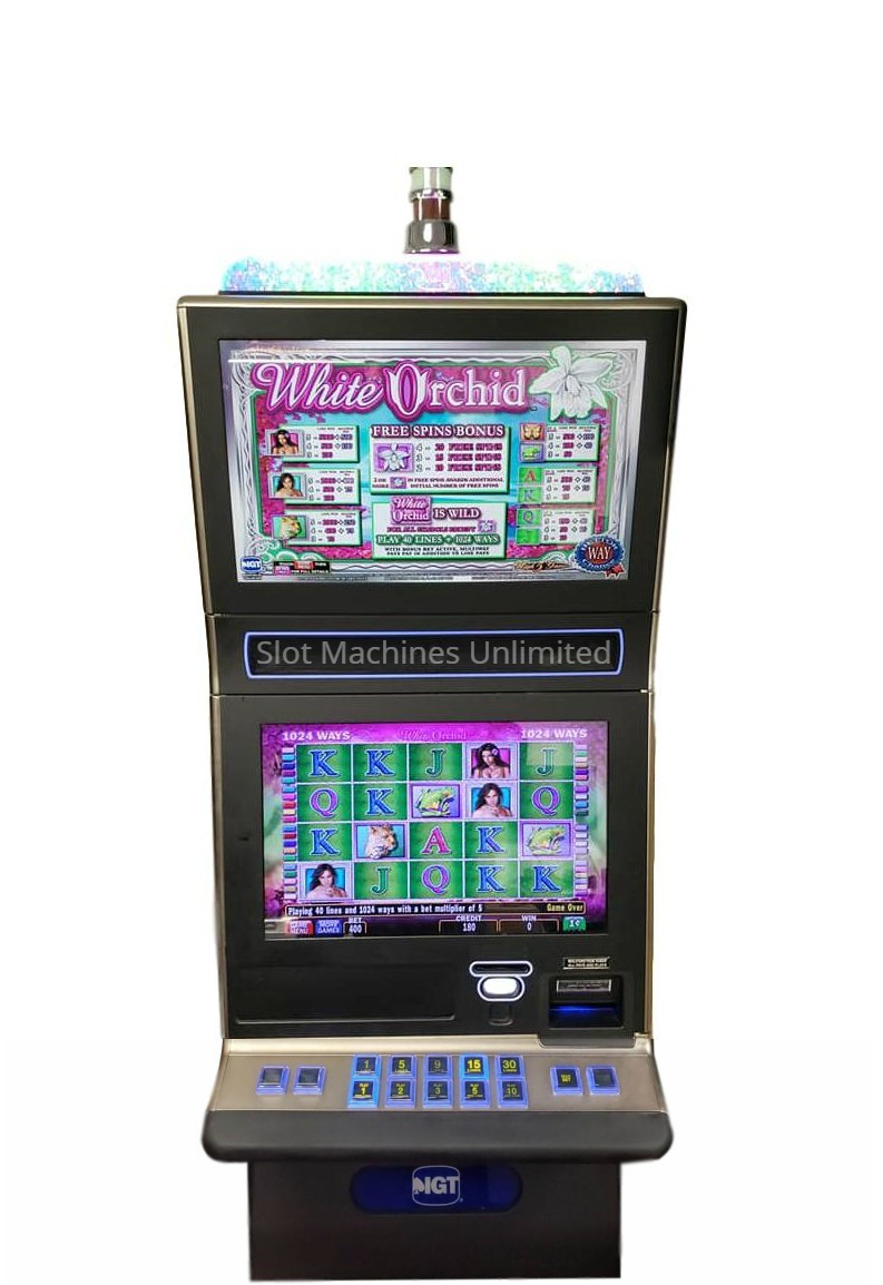 White Orchid Slot Machine Online