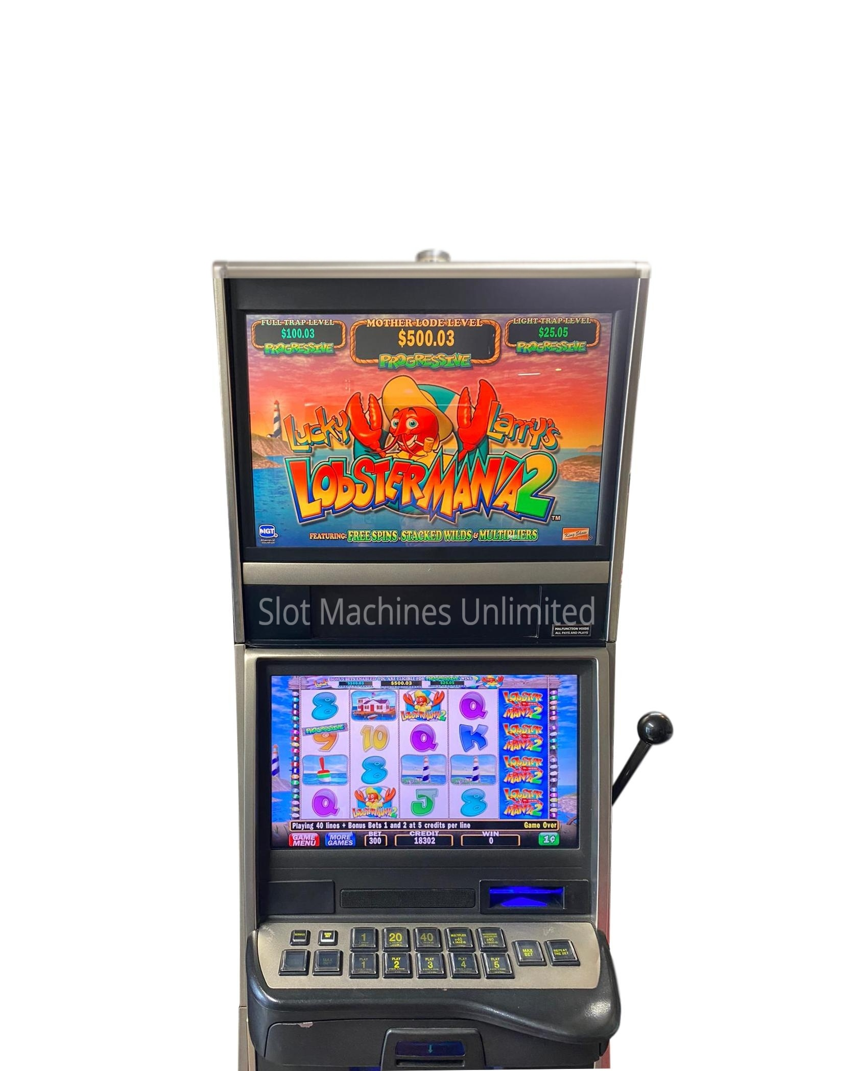 Lobstermania Slot Machine For Sale