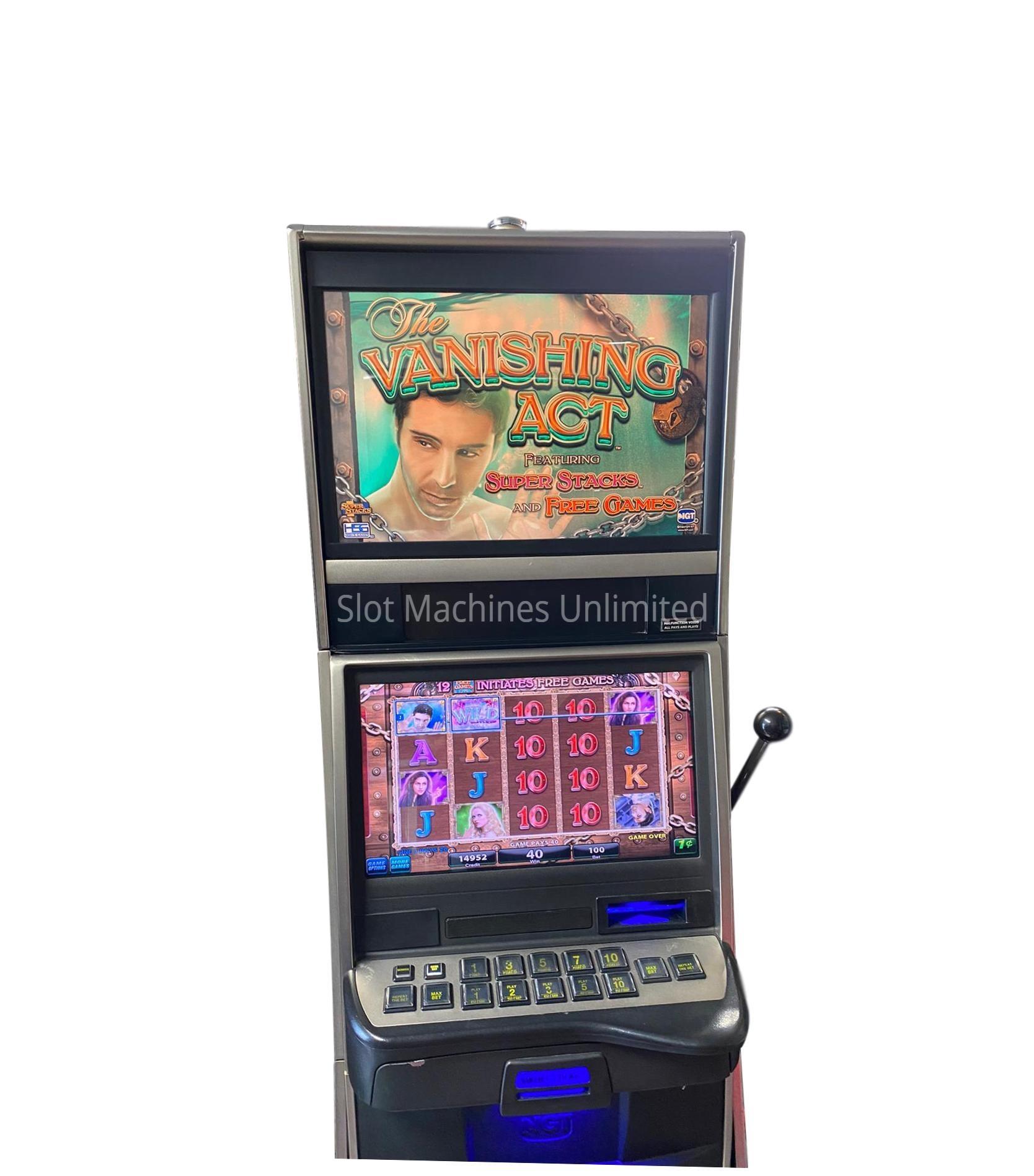 Vanishing Act Slot Machine