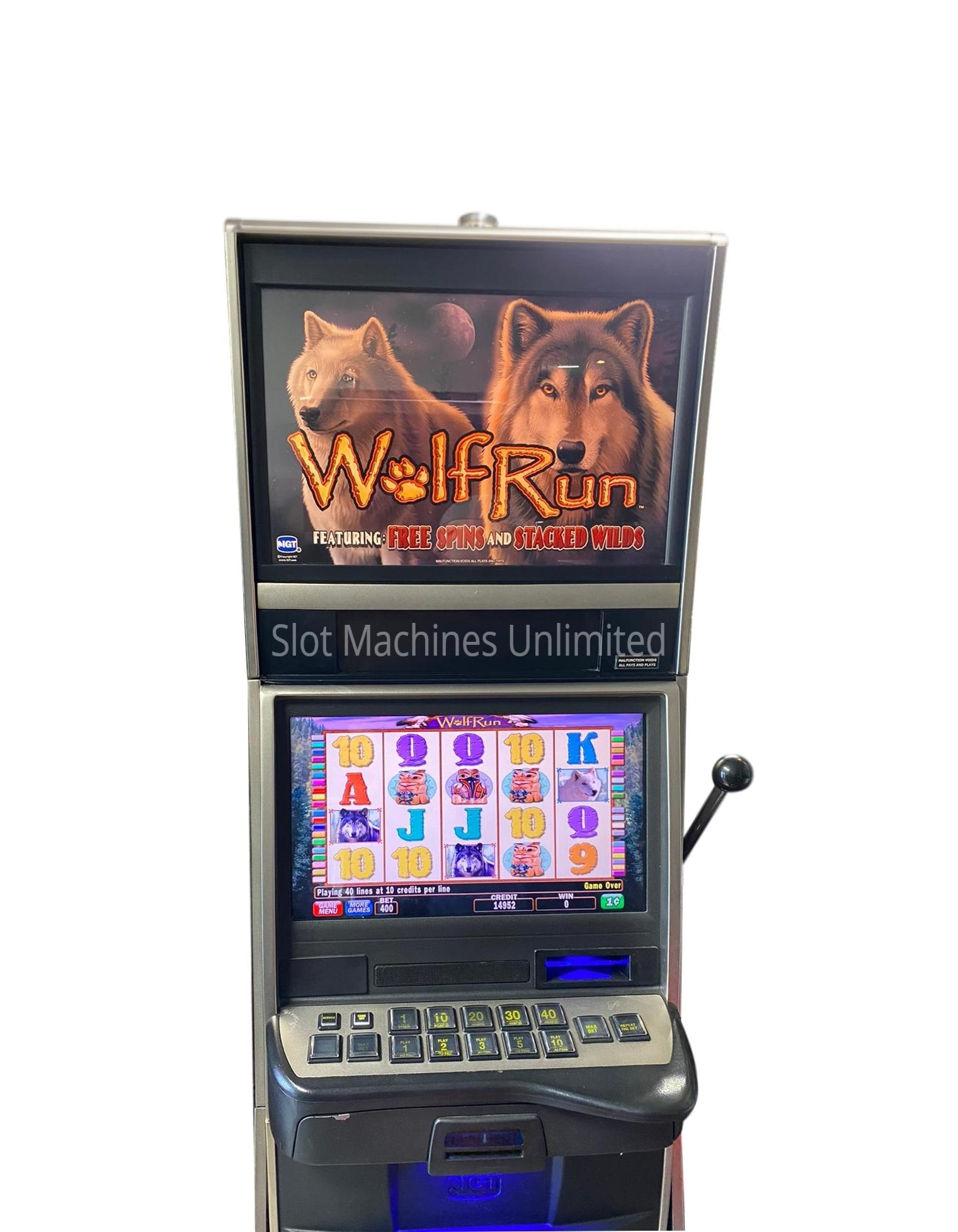 Wolf Run Slot Machine For Sale
